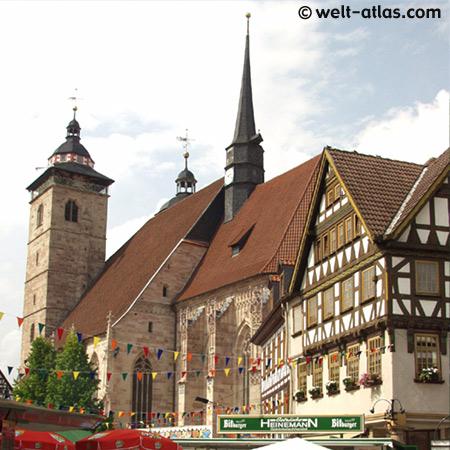Schmalkalden, Hallenkirche