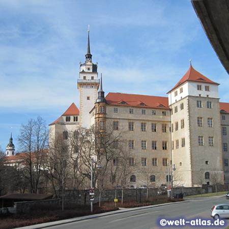 Renaissanceschloss Hartenfels in Torgau, Sachsen