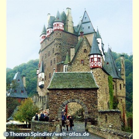 Eltz Castle, one of the most beautiful medieval castles in Germany