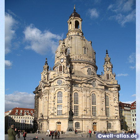 The Dresden Frauenkirche, Church of Our Lady