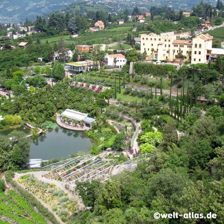 The Gardens of Trauttmansdorff Castle near Merano