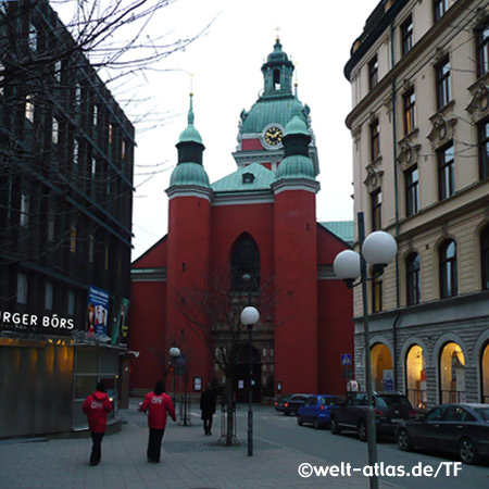 St Jacob's Church, Stockholm, Sweden