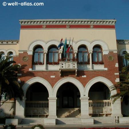 Regierungsgebäude in Porec