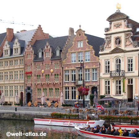 Korenlei, Ghent, Flanders, Belgium