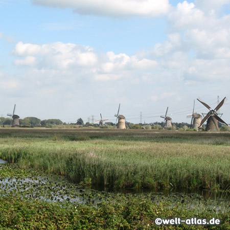 Kinderdijk is a small village unique for it 19 windmills