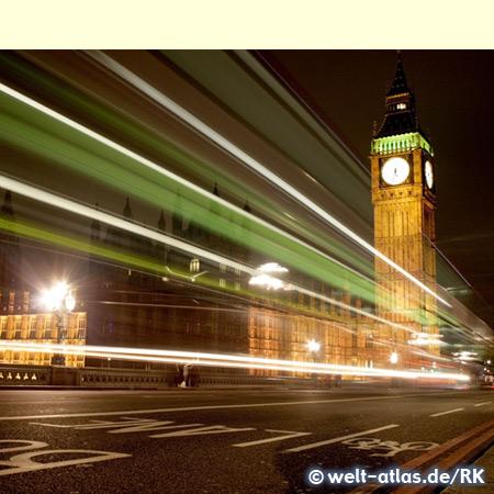 """Big Ben wird die große Glocke im Uhrturm des Palace of Westminster genannt, neuer Name des Wahrzeichens wird """"Elizabeth Tower"""", London"""