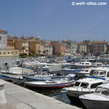 Port of Porec, Croatia
