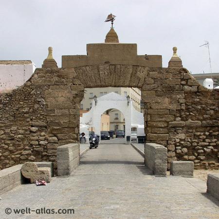Cádiz, Stadtbefestigung, Castillo de Santa Catalina an der Costa de la Luz