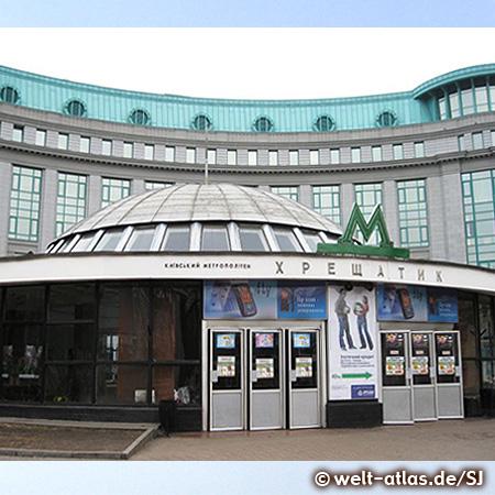 Metro-Station Khreschatyk