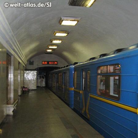 Train of Kiev Metro