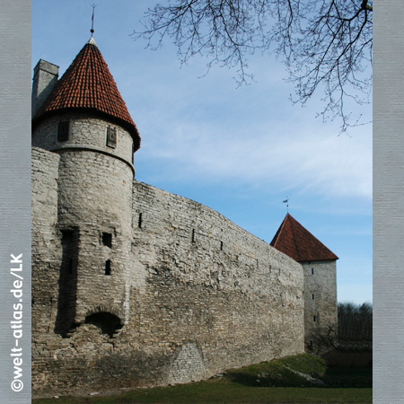 City wall, Tallinn, Estonia