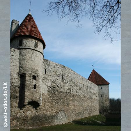 City wall, Tallinn, Estonia