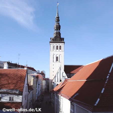 St. Nicholas Kirche von Tallinn (Reval) in Estland