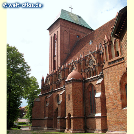 Cathedral of St. John in Kamień Pomorski, Poland