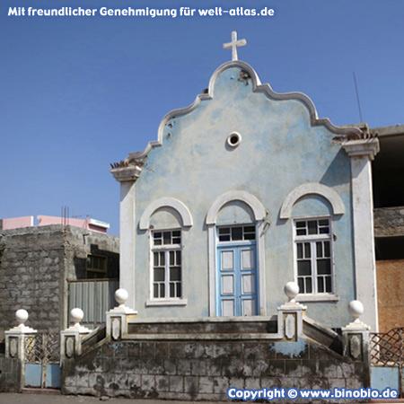 Church of the Nazarene in Porto Novo on the island of Santo Antao, Cape Verde
