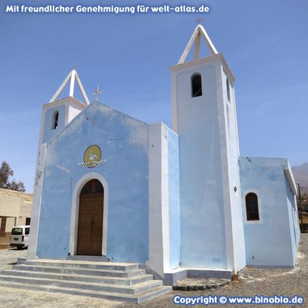 São Lourenço Church, the oldest church on the island of Fogo