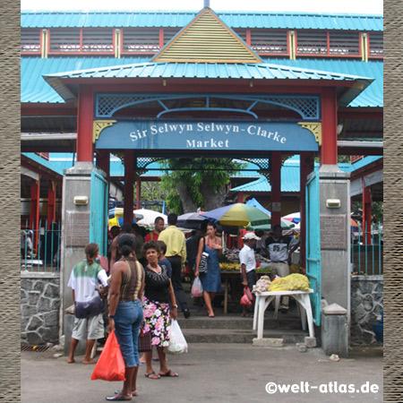 Tor am Sir Selwyn Selwyn-Clarke Marketin Victoria, Mahé