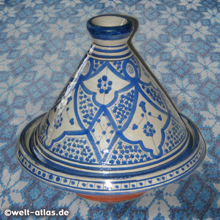Tajine, typische Zubereitung der marokkanischen Küche