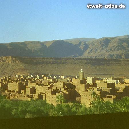 Tinerhir, Village in the Dadès Valley, Morocco