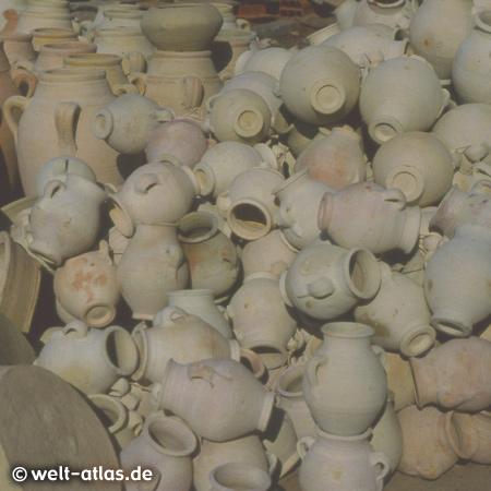 Pottery Market in Houmt Souk, Djerba Island