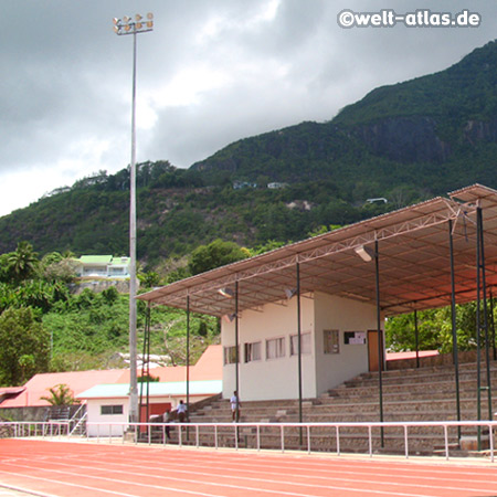 Stadion in Victoria, Mahé, Seychellen