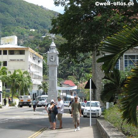 Clock Tower, Victoria, Mahé, Seychelles