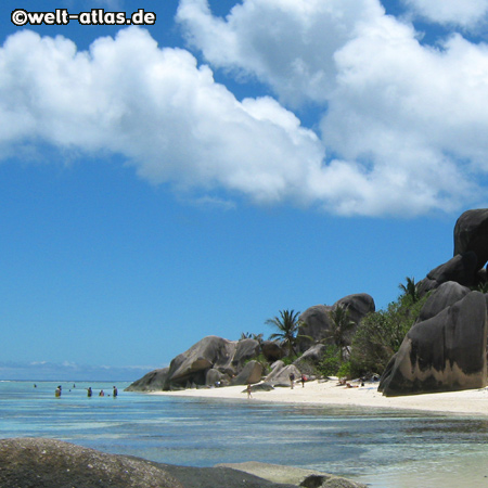 Anse Source d´Argent, La Digue, Beach, Seychelles