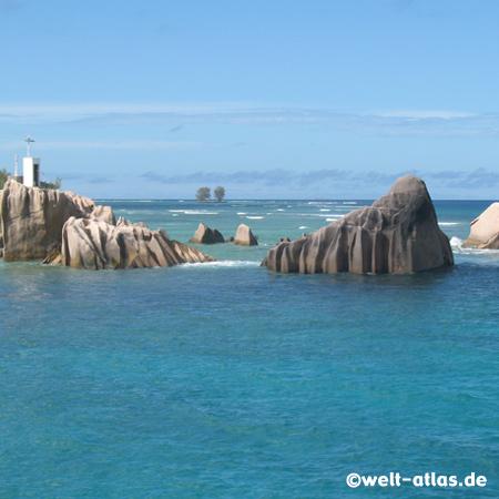 Rocks, La Digue, Seychelles