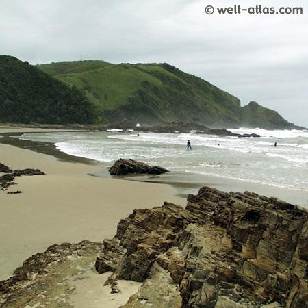 Wilde Küste bei Port St Johns