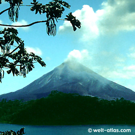 Costa Rica, Vulkan Arenal,am Lago Arenal