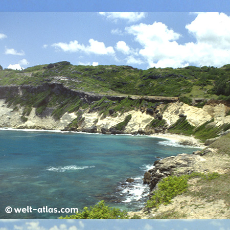 Barbados, Gays Cove, St Lucy at wild North Coast