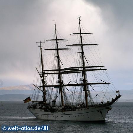 Gorch Fock training ship, Port Ushuaia
