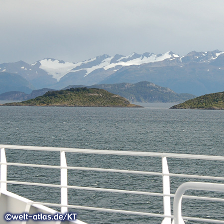 "On board of ""Via Australis"" in Patagonia, Chile"