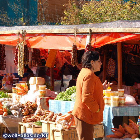 Market in Chiloé Island, Chile