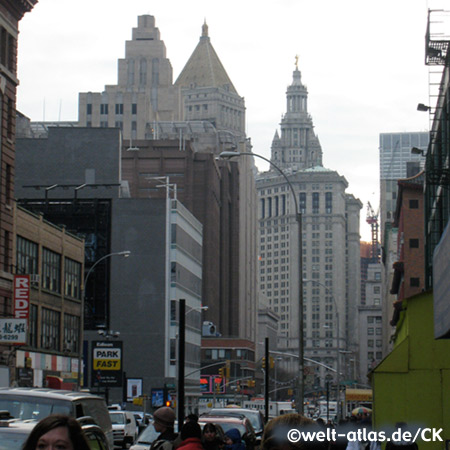 New York City, Manhattan Municipal Building