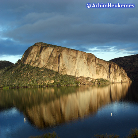 Lake in Arizona, picture taken by Achim Heukemes, a German Ultra Runner