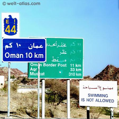 Border to Oman