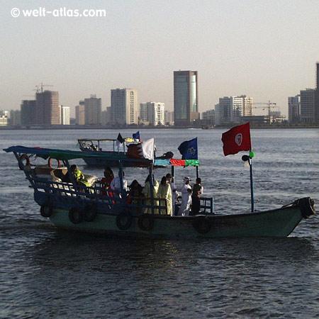 Lagune in Sharjah, VAE
