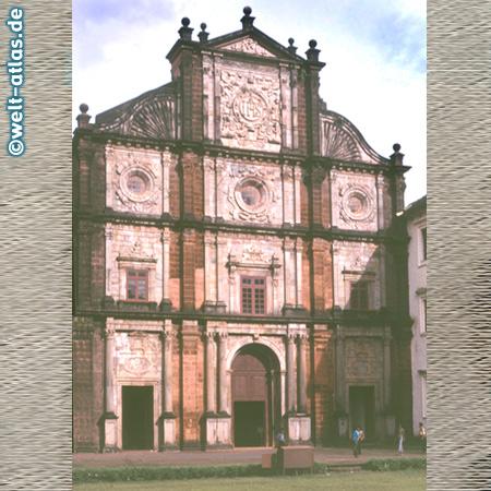 Basilika Bom Jesus in Velha Goa, Alt-Goa (1594–1605), portugiesische Architektur