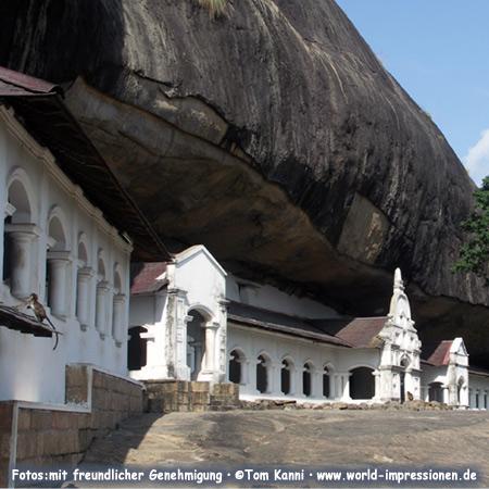 Buddhistische Höhlentempel in Dambulla