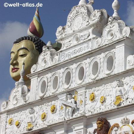 Wewurukannala Vihara Tempel bei Dickwella, Sri Lanka, (Süden)