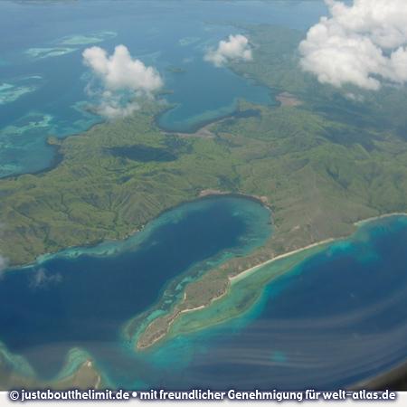 Die Inseln Komodo und Flores