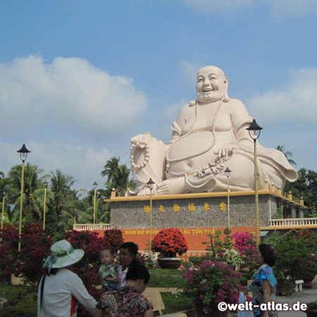 Vinh Trang Temple, My Tho, Laughing or Happy Buddha