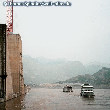 Kreuzfahrt auf dem Jangtsekiang