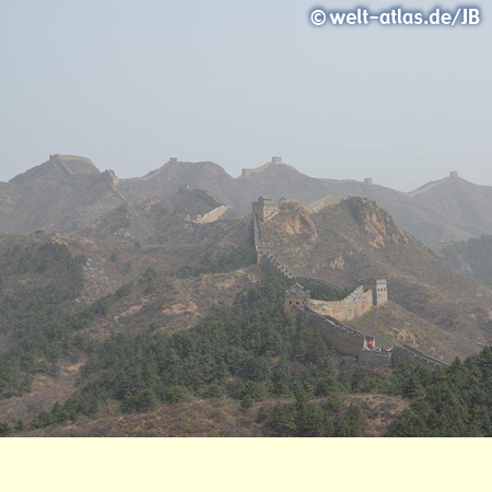 Part of the Jinshanling section of the Great Wall