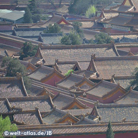 Roofs of Forbidden City, Beijing