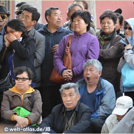 Group of people, Beijing