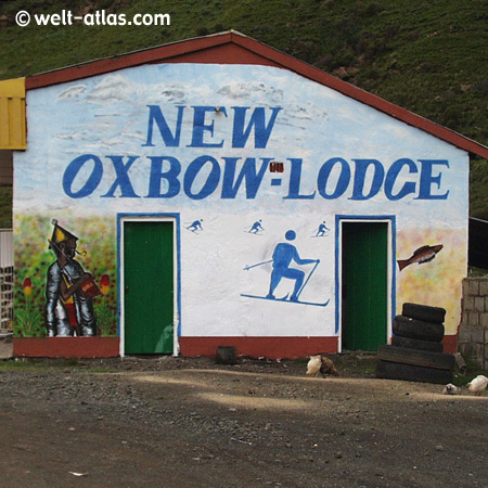 Lesotho, New Oxbow-Lodge,Wintersport