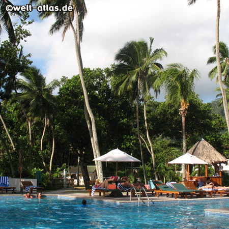 Pool, Berjaya Beau Vallon, Mahé, Seychelles