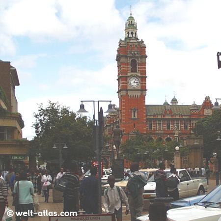 City Hall of Pietermaritzburg, South Africa